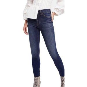 Free People Ultra High Rise Skinny Jeans
